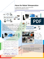 Haptic Interfaces for Robot Teleoperation a Project Poster at Khalifa Univ