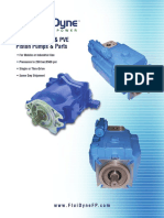 Pvh, Pvb, Pvq, Pve Piston Pumps