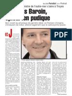 Portrait de François Baroin pour le magazine-école urbain de l'IFP