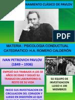 4- El Condicionamiento Clásico de Pavlov
