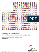 Connected Communities - How social networks power and sustain the Big Society