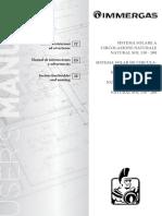 Calentador Solar Manual de fabricante