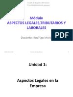 1.- ASPECTOS LEGALES