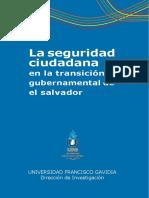 La Seguridad Ciudadana EL SALVADOR