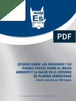 Estudio sobre las Emisiones y su Posible Efecto sobre el Medio Ambiente y la Salud en el Entorno de Plantas Cementeras.pdf