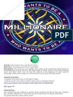 PPT Who Wants to Be a Millionaire_