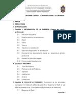 Nueva Estructura Del Informe de Pasantias - Unefa
