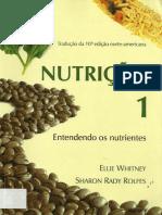Nutrição - Entendendo Os Nutrientes - Whitney e Rolfes