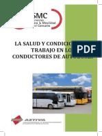 Estudio La Salud y Condiciones de Trabajo en Los Conductores de Autobuses