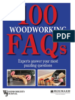 100 Woodworking Faqs