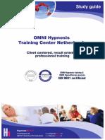 OMNI Hypnosis Training Study Guide