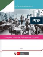 Programa Curricular Educacion Primaria