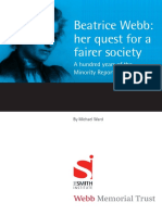 Beatrice Webb - Her Quest for a Fairer Society