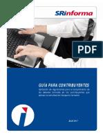 Guía Para Contribuyentes Para La Aplicación de Regulaciones Para El Cumplimiento de Los Deberes Formales de Los Contribuyentes Que Ejerzan La Actividad de Transporte Terrestre