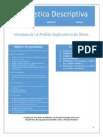 01 Unidad I 2017 Estadistica Descriptiva