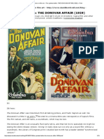 Observations on Film Art » the Quietest Talkie_ the DONOVAN AFFAIR (1929) » Print