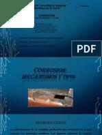 Corrosion Mecanismos y Tipos