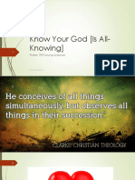 Know Your God is Wise