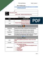 lecture notes unit 5 lesson 1 - 7th grade - mesoamerica taxay
