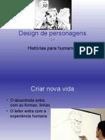 Design de personagens