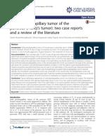 tumor pseudopapilar solido de pancreas
