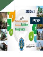 Normativa Legal Para Residuos Peligrosos (Bolivia)