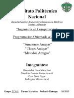 Funciones, Metodos y Clases Amigas.docx