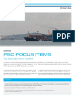 Dnvgl Psc Focus Items s