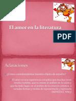El Amor y El Viaje en La Literatura (2)