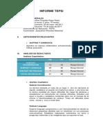 Informe Tepsi Agustina 1ero
