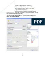 Batch File Processing TUTORIAL