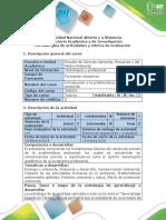 Guía de Actividades y Rúbrica de Evaluación - Tarea 2. Comprender Los Conceptos y Aspectos Generales de La Problemática Ambiental