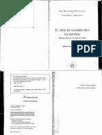 El Arte de Escribir Bien en Español. Manual de Corrección de Estilo