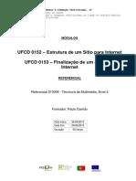 Manual Ufcd 0152-Estrutura de Um Stio Para Internet Final