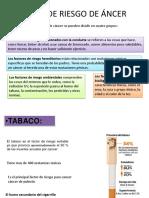 Factores Cancer