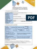 Guía de actividades y rúbrica de evaluación -Paso 1
