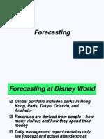 1. Forecasting