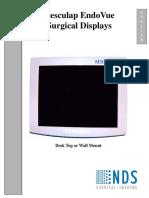 Aesculap EndoVue - Service Manual