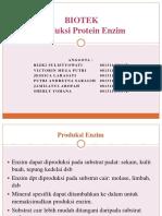 Produksi Protein Dan Enzim