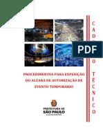Manual de Eventos 2016