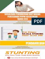 Popm Kecacingan 2018 Untuk Kader Dan Guru Uks