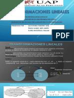 Diapositiva de Transformacion Lineal