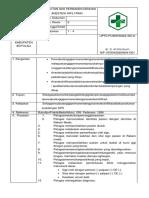 10. SPO Pencabutan Gig IPermanen Dengan Anestesi Infiltrasi