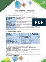 Guía de Actividades y Rúbrica de Evaluación - Paso 1 - Desarrollar Trabajo de Reconocimiento