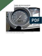 BMW F 650 GS Cambio Del Kit De