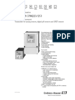 Liquisys m Cpm223253 Data Sheet