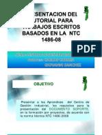 Norma Tecnica Icontec 1486 Cgi