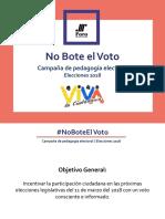 Campaña No Bote el Voto.pptx