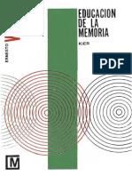 Educación de La Memoria - Ernesto Wood
