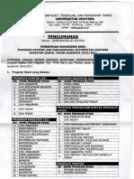 Surat Jadwal Penerimaan Mhs Baru Semt Ganjil Tahun Akademik 2016 2017147